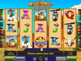 Kasino automat zdarma Armadillo Artie