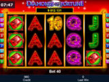 Casino hra Diamonds of Fortune zdarma online