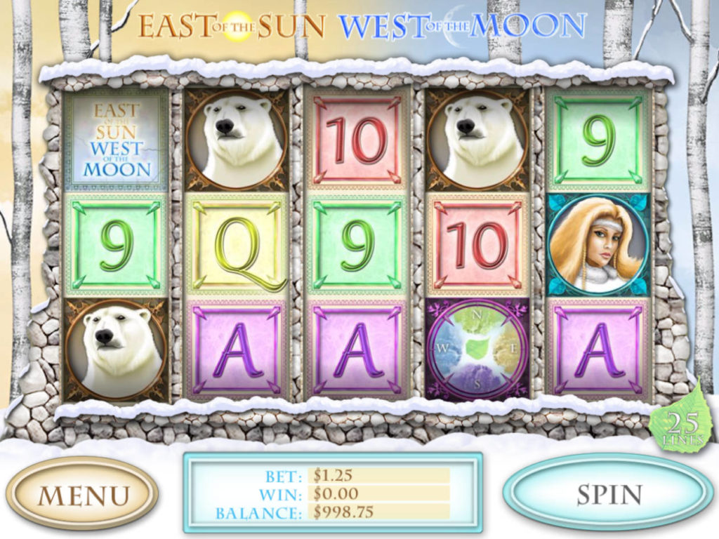 Online casino automat East of the Sun, West of the Moon zdarma