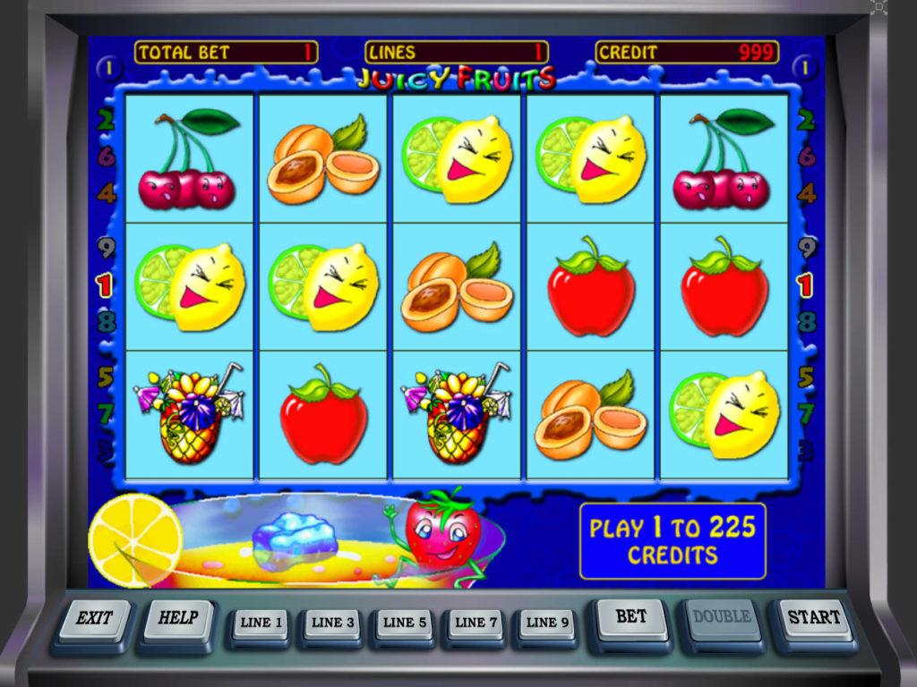 Obrázek casino automatu Juicy Fruits zdarma