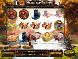 Zábavný herní automat Little Red online