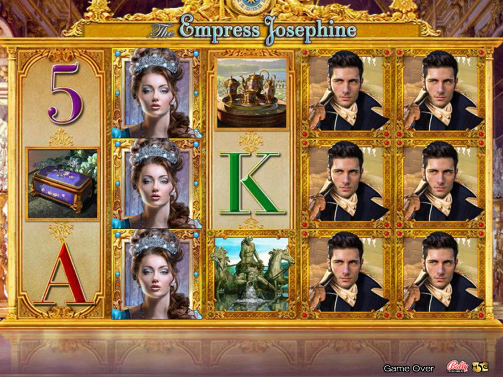 Casino automat The Empress Josephine zdarma