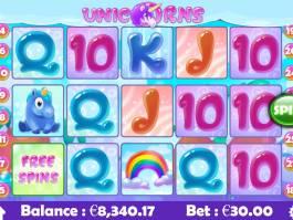 Casino automat Unicorns zdarma, bez registrace