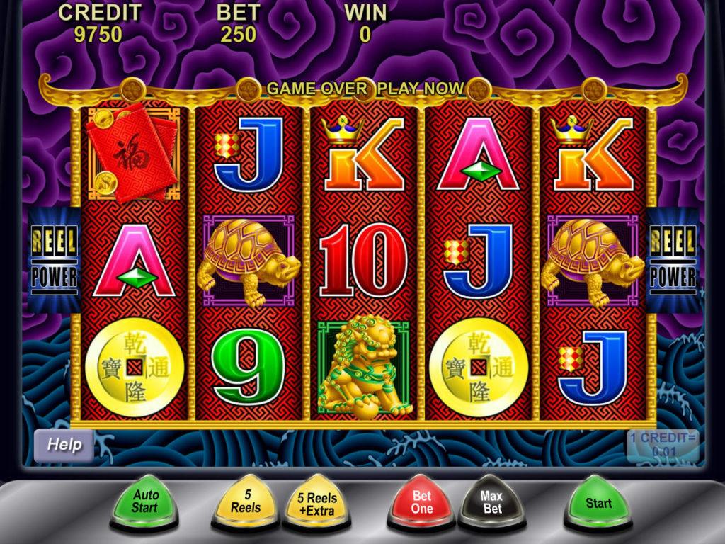 Zahrajte si zábavný automat 5 Dragons zdarma