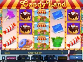 Zahrajte si online casino automat Candy Landy zdarma