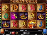 Casino automat Desert Tales zdarma