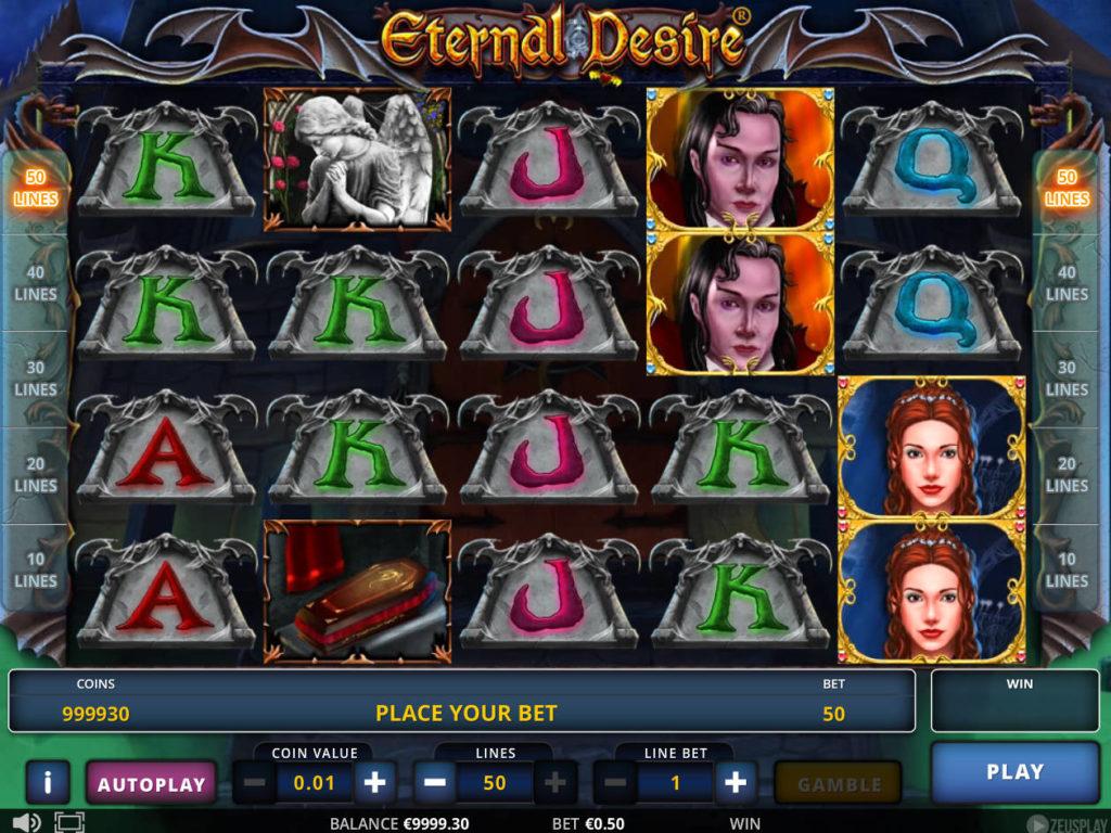 Roztočte casino automat Eternal Desire online