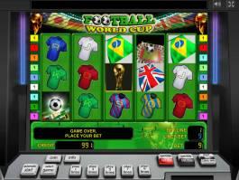 Obrázek ze hracího automatu Football World Cup