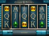 Zahrajte si casino automat Gems and Stones zdarma