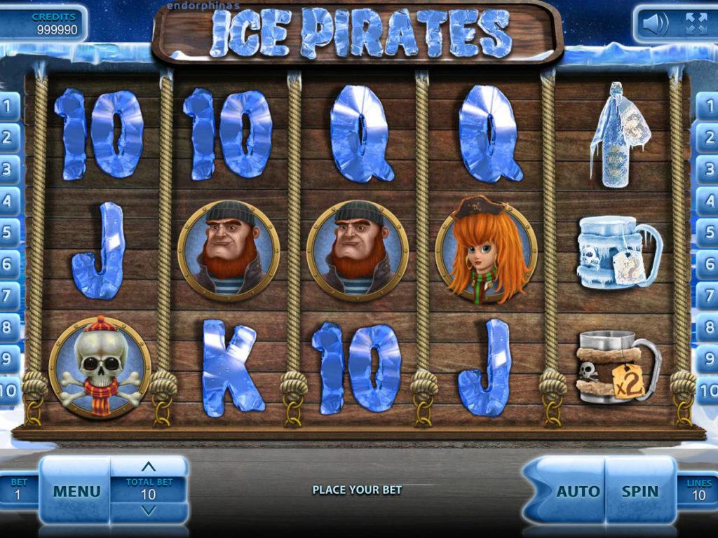 Casino automat Ice Pirates zdarma, bez vkladu