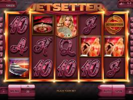 Zahrajte si online casino automat Jetsetter zdarma