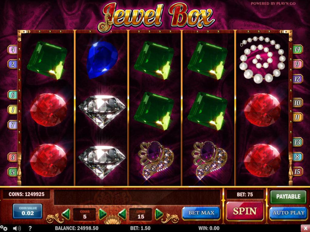 Automat bez registrace Jewel Box