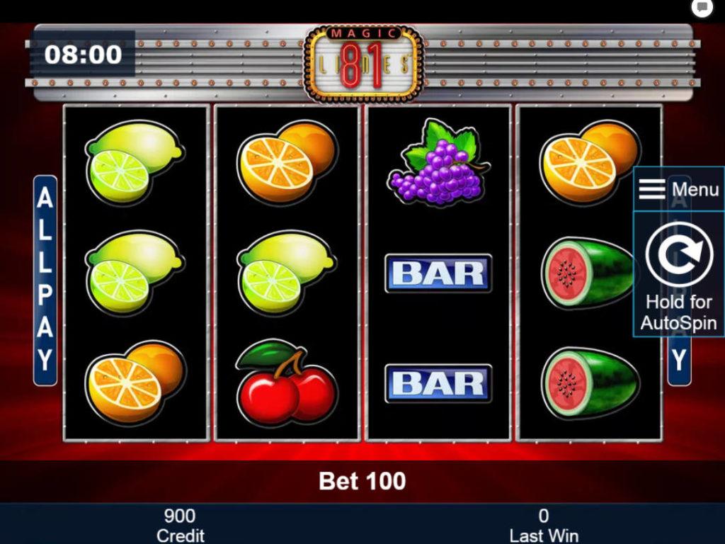 Online casino automat Magic 81 zdarma, bez registrace
