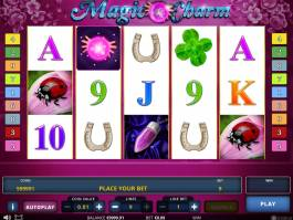 Zábavný herní automat Magic Charm
