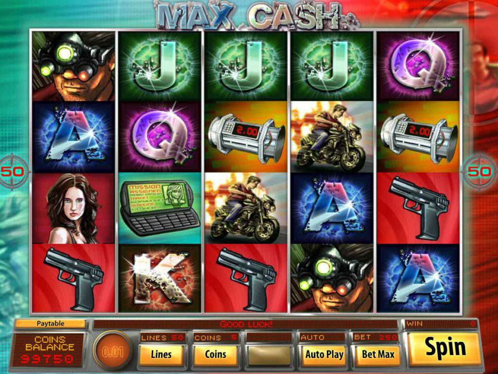 Online casino automat Max Cash bez stahování