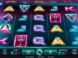 Casino automat Neon Staxx bez stahování