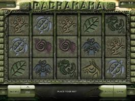 Obrázek z online herního automatu Pachamama
