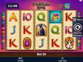 Online hrací automat Pharaoh's Ring zdarma, bez vkladu