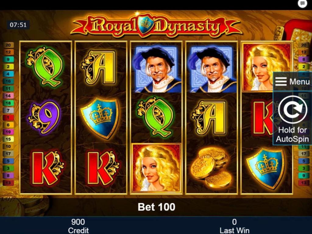 Online casino automat Royal Dynasty zdarma bez registrace
