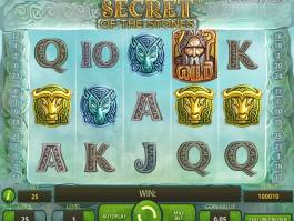 Obrázek ze hry automatu Secret of the Stones