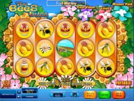 Kasino výherní automat The Bees Buzz