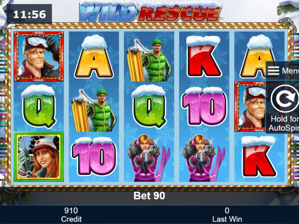 Casino automat Wild Rescue zdarma, bez vkladu