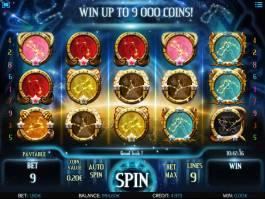 Zahrajte si casino automat Astro Magic online, zdarma