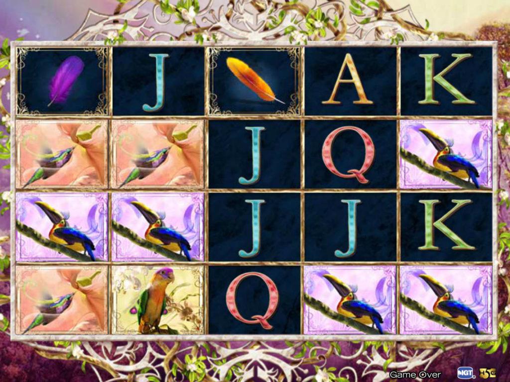 Birds of Wonder herní automat online