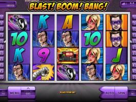 Online herní automat Blast! Boom! Bang! zdarma