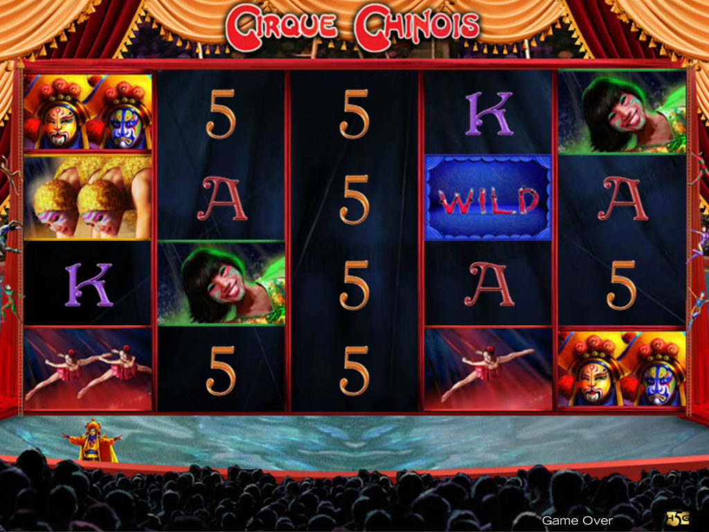 Online casino automat Cirque Chinois