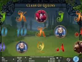 Casino automat Clash of Queens bez vkladu