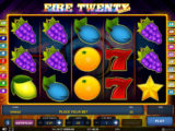 Obrázek z online casino automatu Fire Twenty Deluxe