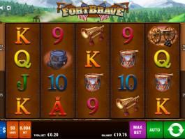 Online casino automat Fort Brave zdarma