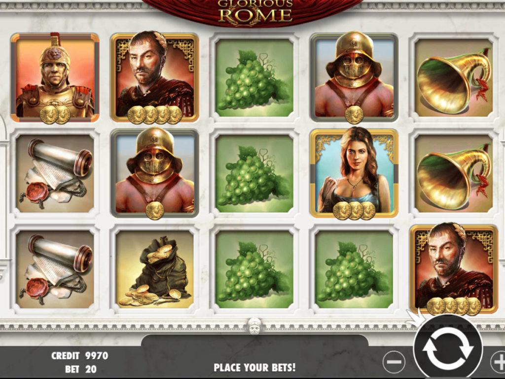 Obrázek z casino automatu Glorious Rome zdarma