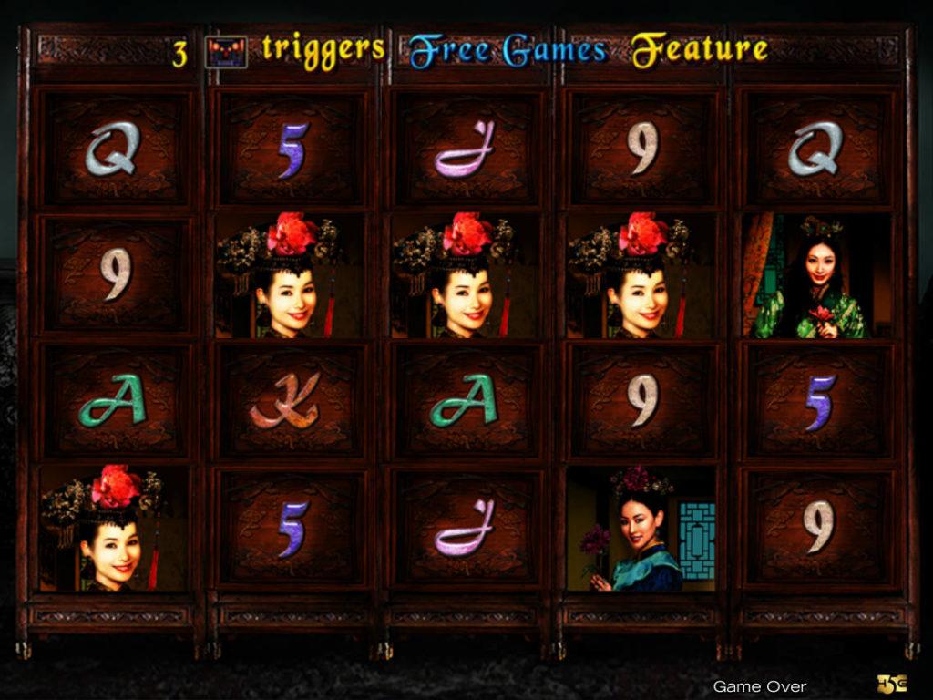 Roztočte casino automat Golden Peony online