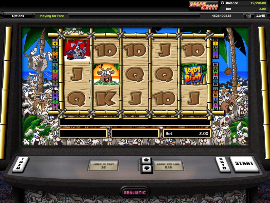 Online herní automat Hot Cross Bunnies Loads a Bunny