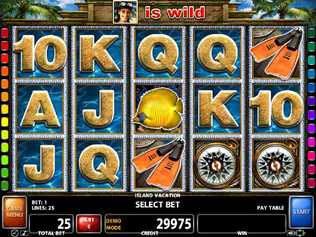 Casino automat Island Vacation zdarma