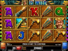 Casino automat Jaguar Warrior bez registrace