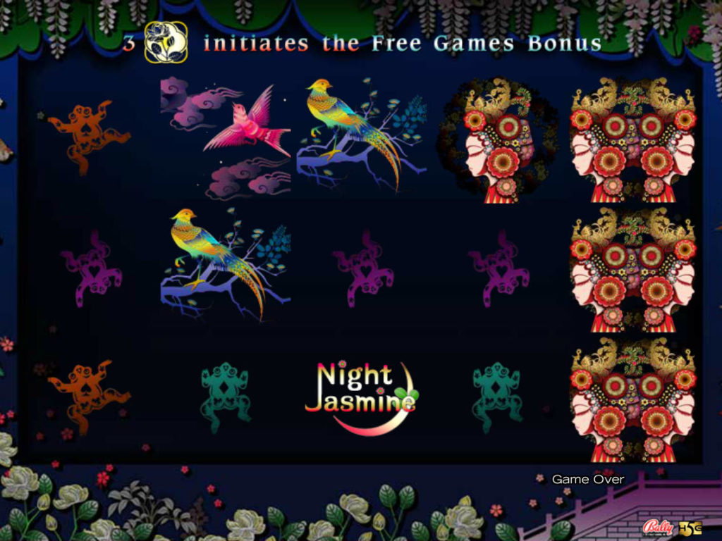 Online casino automat Night Jasmine