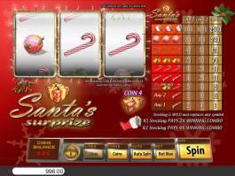 Casino automat Santa's Surprize bez vkladu