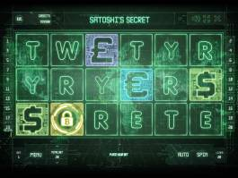 Zahrajte si casino automat Satoshi's Secret zdarma