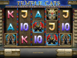 Online casino automat Temple Cats zdarma