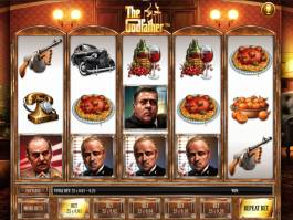 Online casino automat The Godfather od společnosti Gamesys