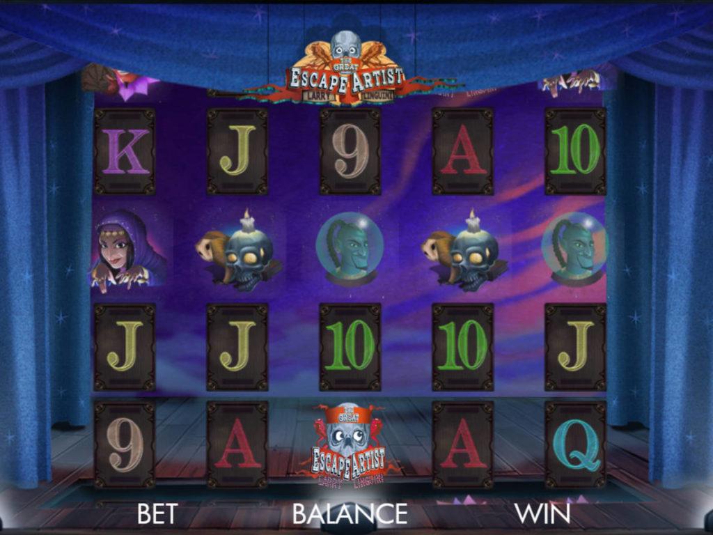 Zábavný casino automat The Great Escape Artist