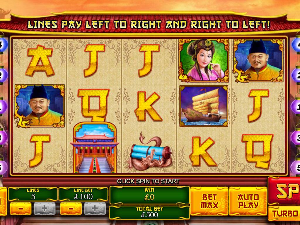 Obrázek z casino automatu The Great Ming Empire