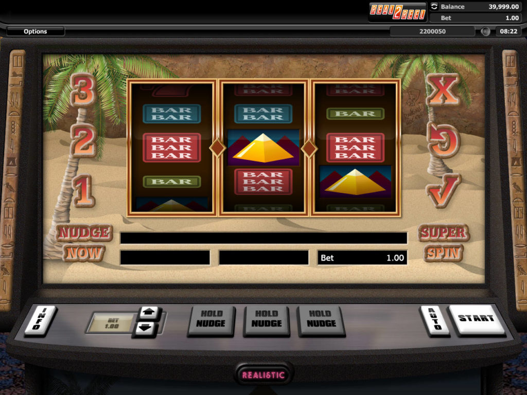 Online casino automat The Great Pyramid