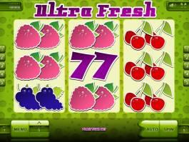Online herní automat Ultra Fresh zdarma