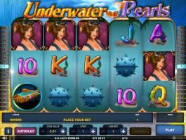 Zahrajte si casino automat Underwater Pearls zdarma