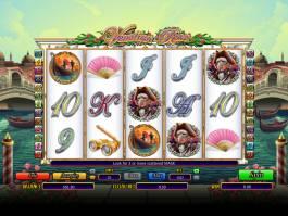 Online casino automat Venetian Rose bez stahování