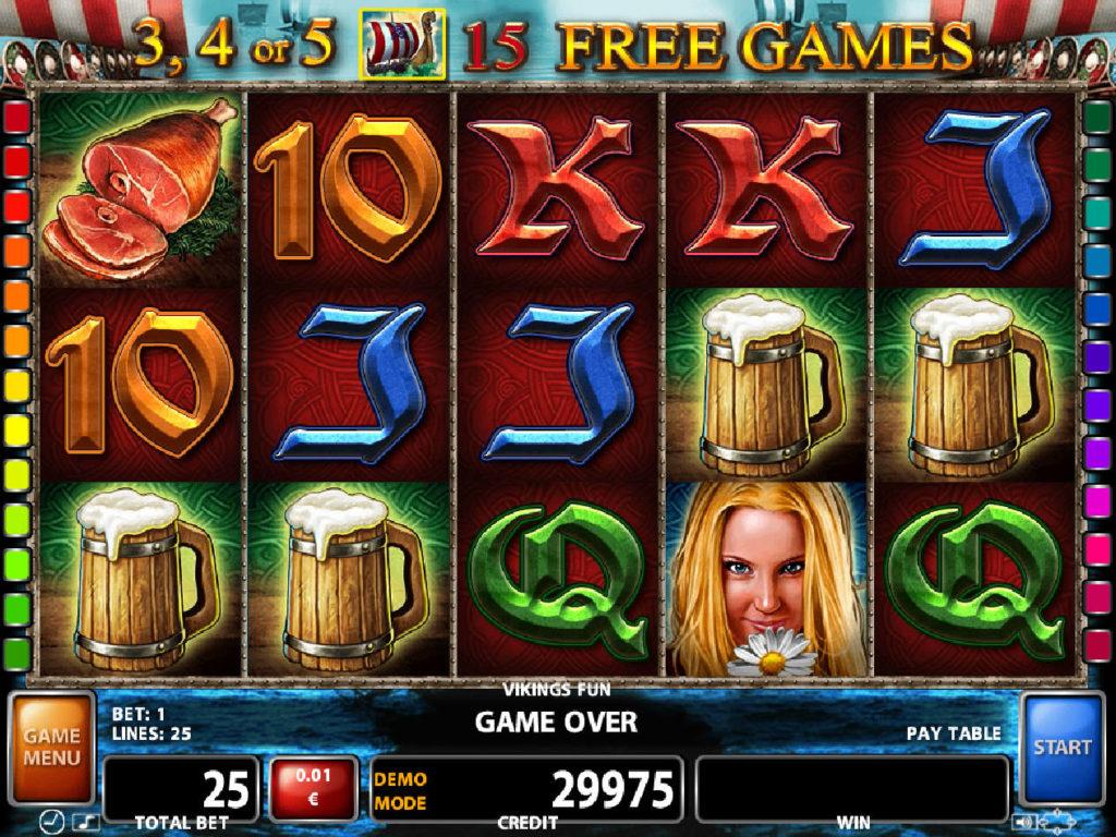 Zahrajte si casino automat Viking's Fun online